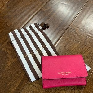 Henri Bendel West 57th Wallet with Coin Purse